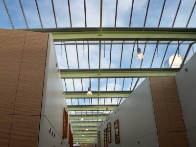 Lichte glasoverkapping atrium kassenbouwsysteem 2