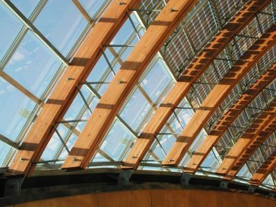 BIPV PVpanele glasoverkapte ruimte atrium 3