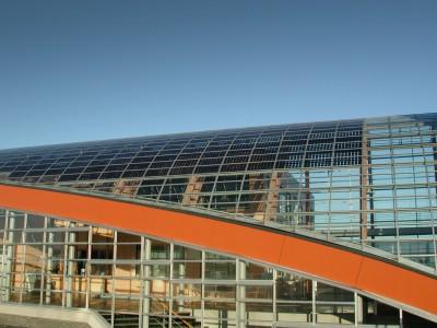 BIPV PVpanele glasoverkapte ruimte atrium 4