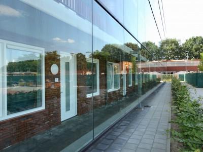 Glazen galerijafdichting profielloos zelfdragend glas 5