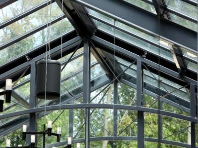 Restaurant glasoverkapping met zonwerende beglazing 9