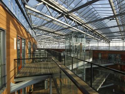Grote glasoverkapt transparant atrium2