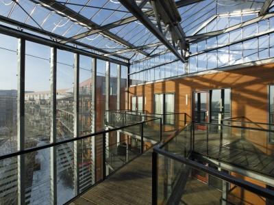 Grote glasoverkapt transparant atrium3