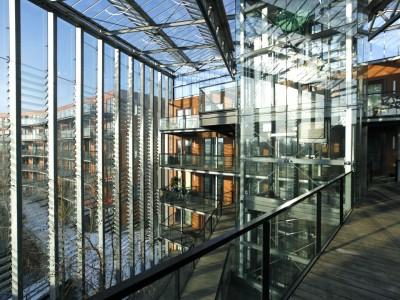 Grote glasoverkapt transparant atrium4
