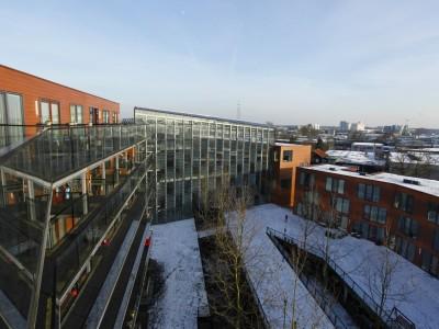 Grote glasoverkapt transparant atrium5