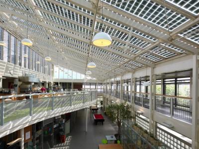 Solarpanelen BIPV PV geintegreerd in glasoverkapping 3