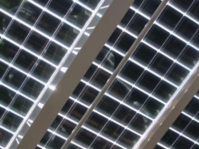 Solarpanelen BIPV PV geintegreerd in glasoverkapping 4