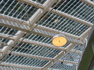 Solarpanelen BIPV PV geintegreerd in glasoverkapping 5