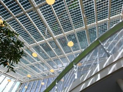 Solarpanelen BIPV PV geintegreerd in glasoverkapping 6