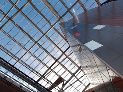 Atriumoverkapping in kassenbouw systeem 3