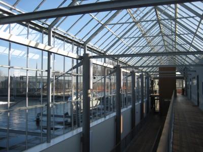 Kasconstructie als atriumoverkapping met doorgaande ventilatieramen4